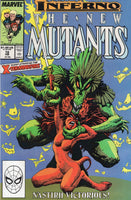 New Mutants #72 The X-Terminators! VF