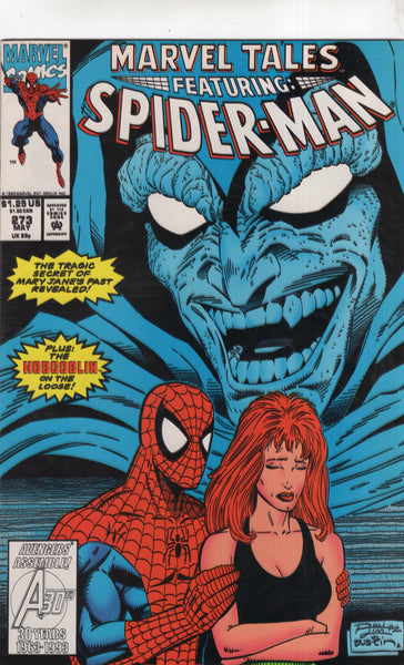 Marvel Tales #273 Amazing Spider-Man & Mary Jane! HTF Later Issue VF