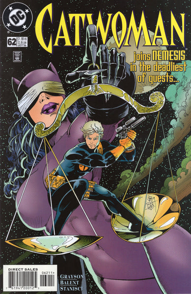 Catwoman #62 The Deadliest Quest NM-