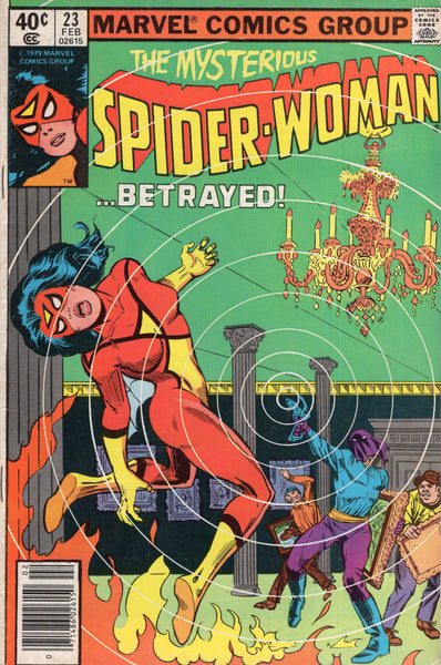 "Spider-Woman #23 ""Betrayed!"" News Stand Variant VG+"