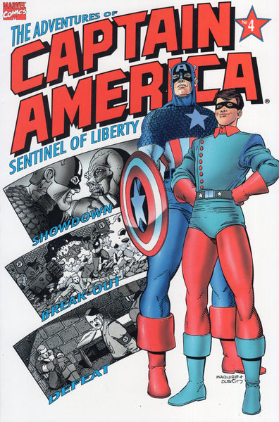 Adventures of Captain America #4 VFNM