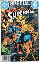 Superman Special #2 1984 News Stand Variant VF
