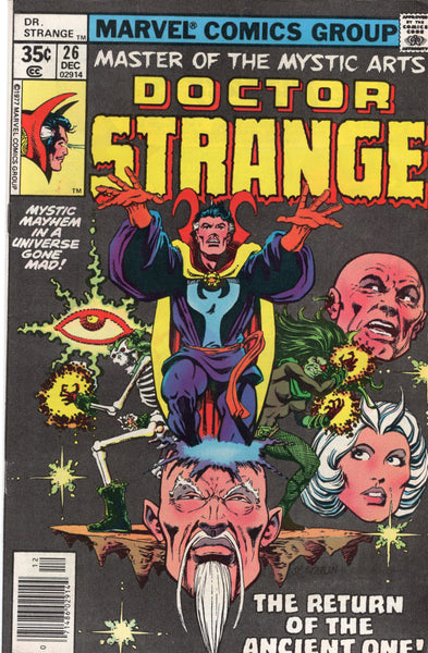 Doctor Strange #26 Return Of The Ancient One! Bronze Age FVF