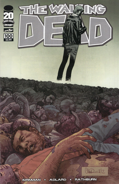 Walking Dead #100 Charlie Adlard Wraparound Cover VFNM