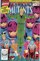 New Mutants Annual #6 Days Of Future Present First Appearance Of Shatterstar VF+