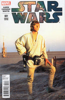 Star Wars #1 Luke Photo Cover Variant Marvel Series VFNM