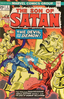 Son Of Satan #3 The Devil and The Demon Bronze Age Horror VG