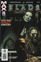 Blade Vol 2 #5 Mature Readers VF