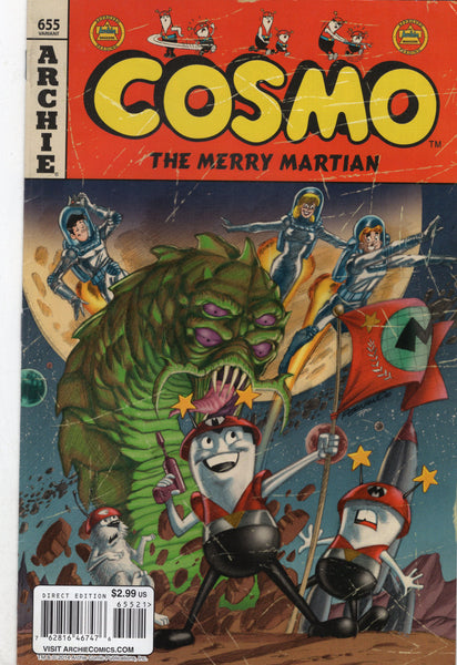 Archie #655 Cosmo The Merry Martian Variant FVF