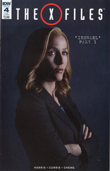X-Files #4 IDW Scully Photo Sub Cover Variant FVF
