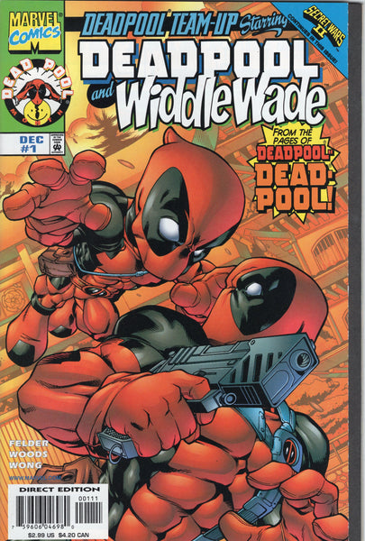 Deadpool Team-Up #1 Deadpool and Widdle Wade NM- condition