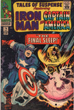 Tales Of Suspense #74 Iron Man And Captain America The Final Sleep! Silver Age Classic VGFN