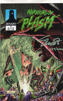 Warriors of Plasm #1 Signed with CoA VF