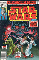 Star Wars #4 First Print Original Marvel Series The Battle With Darth Vader FVF