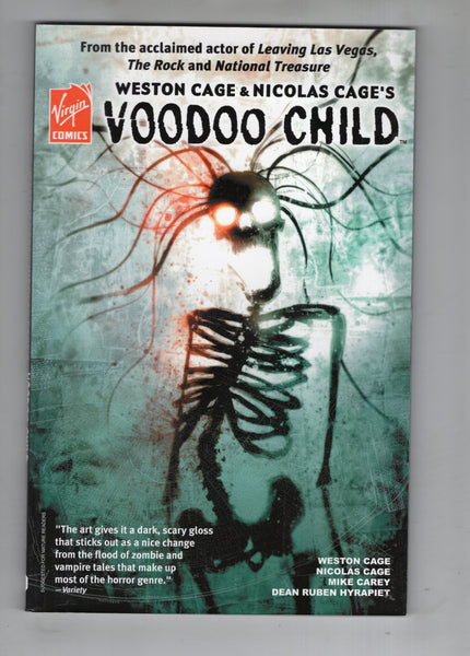 Voodoo Child Trade Paperback Weston & Nicolas Cage Virgin Comics Mature Readers FVF
