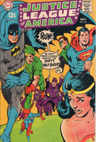Justice League Of America #66 Adams Cover Silver Age Classic VG