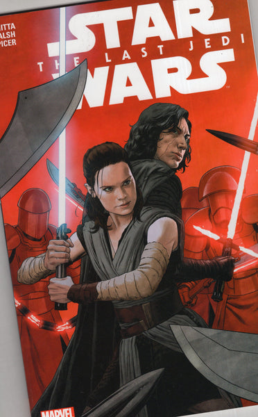 Star Wars The Last Jedi Trade Paperback First Print VFNM