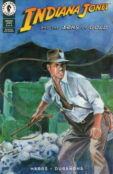 Indiana Jones and the Arms of Gold #3 VF