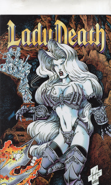 Lady Death: The Odyssey #2 of 4 Mature Readers VF