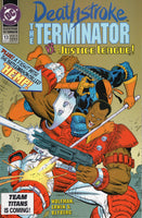Deathstroke The Terminator #13 VS. The Justice League VFNM
