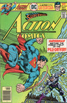 Action Comics #464 The Pile-Driver! Bronze Age FN