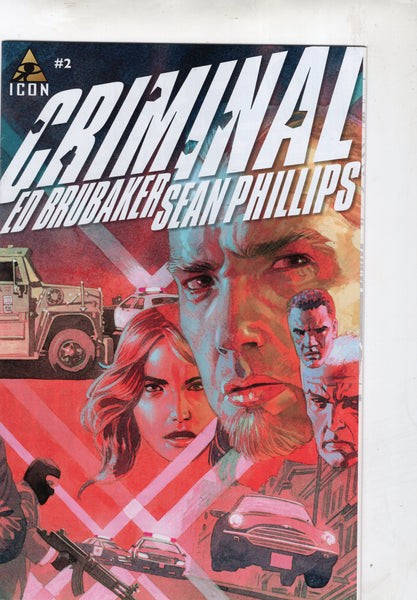 Criminal #2 Brubaker & Philips Mature Readers VF