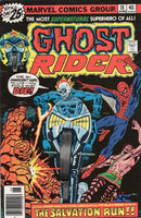 Ghost Riber #18 the Salvation Run! Classic Bronze Age Issue VGFN