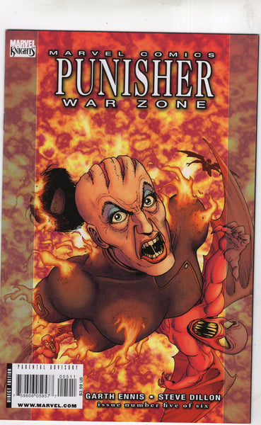 Punisher War Zone #5 of 6 Ennis Dillon Mature Readers VF