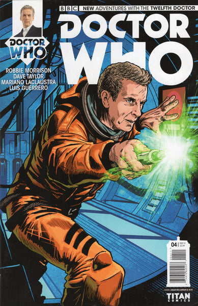 Doctor Who: The Twelfth Doctor #4 Titan Comics VFNM