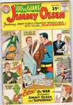 80 Page Giant #2 Superman's Pal Jimmy Olsen Silver Age Square Bound Giant Key VGFN
