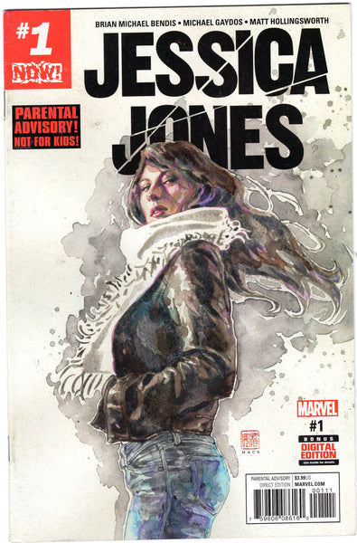 Jessica Jones #1 Mack Gaydos Art Mature readers FN