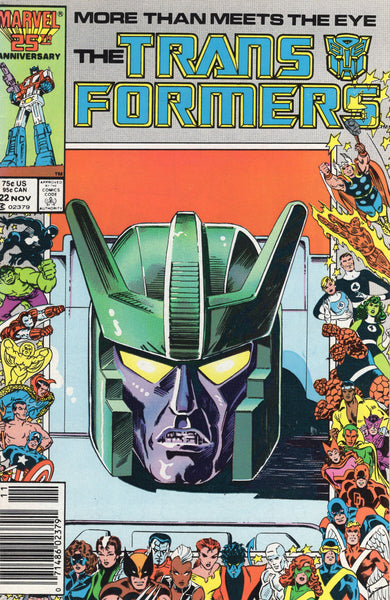 Transformers #22 Heavy Traffic News Stand Variant VF