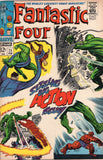 Fantastic Four #71 Sizzling Big Action Issue! Silver Age Kirby Classic FN