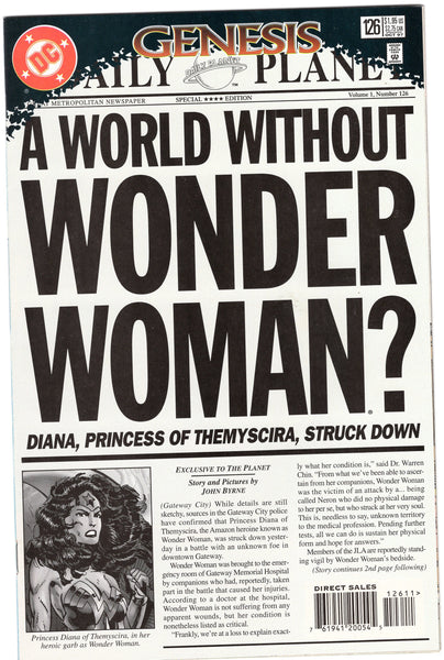 Wonder Woman #126 World Without A Wonder Woman! NM