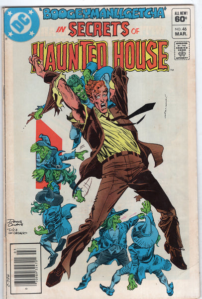 Secrets Of Haunted House #46 News Stand Variant VG