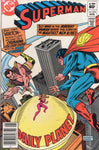 Superman #374 Here Comes Vartox! News Stand Variant