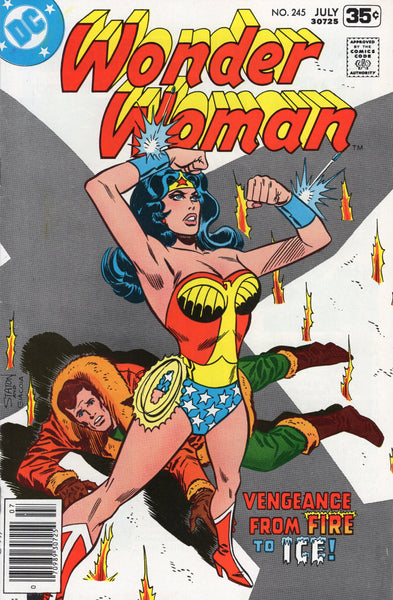 Wonder Woman #245 from Fire & Ice! Bronze Age Classic FVF