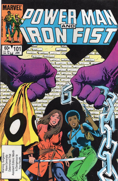 Power Man And Iron Fist #101 FN