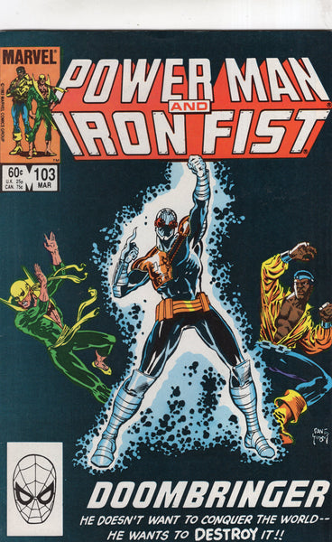 Power Man And Iron Fist #103 Doombringer! FN