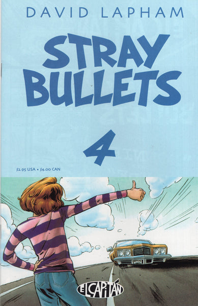 Stray Bullets #4 David Lapham Mature Readers VF