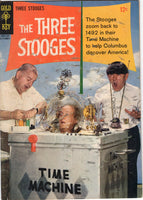 Three Stooges #25 Gold Key Low Grade HTF GD