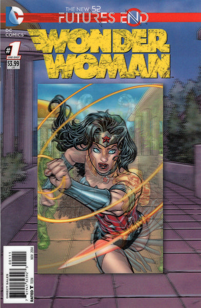 Wonder Woman: Furures End 3D Cover New 52 Series NM