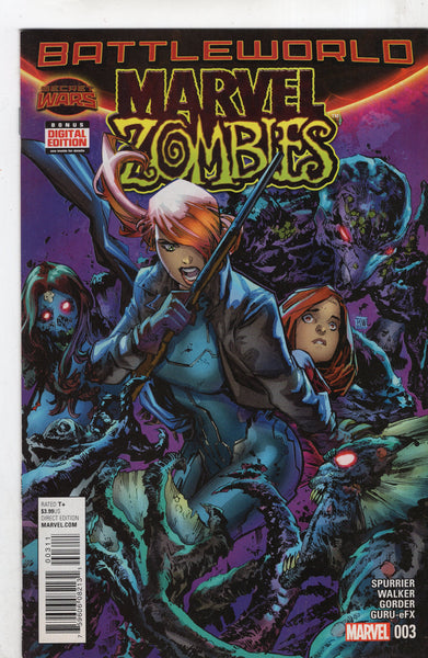 Marvel Zombies #3 Battleworld! VFNM
