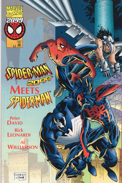Spider-Man 2099 Meets Spider-Man 2099 Special First Print HTF NM-