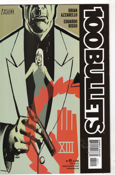 "100 Bullets #69 ""Sleep Walker"" Azzarello Risso Mature Readers VFNM"