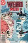 "Weird War Tales #124 ""Old Enemies Never Die!"" News Stand Variant Last Issue VGFN"