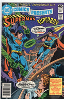 DC Comics Presents #14 Superman And Superboy! Bronze Age VG