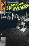 "Amazing Spider-Man #295 Life In The Mad Dog Ward"" News Stand Variant FVF"