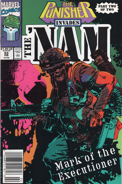 The Nam #53 Punisher Appearance News Stand Variant FN