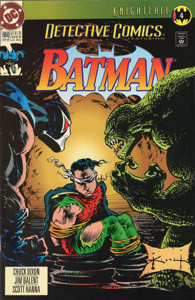 Detective Comics # 660 Early Bane Appearance! VF